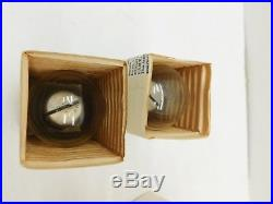 Vtg GE Glow Lamps AR1 AR-1 Orig. Box Safety Night Lights 2 Watt Gas Argon Nela