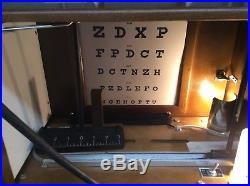 Vtg Portoclinic Driver Education Eye Test Reflex Screener Looks Complete