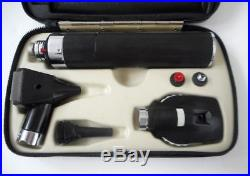 Vtg Welch Allyn Otoscope Ophthalmoscope Diagnostic Set (#71050, #25000, #11600)