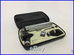 Vtg Welch Allyn Otoscope Ophthalmoscope Set WORKING, with NEW BATTERY