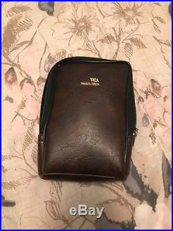 Welch Allyn Diagnostic Set- Otoscope and Ophthalmoscope with Vintage Leather Case