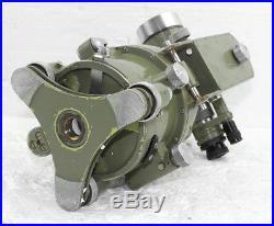 Wild Heerbrug Vintage Theodolite T16 Model Level Telescope with Metal Hood