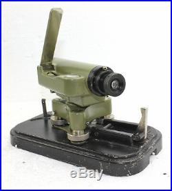 Wild Heerbrugg NO Vintage Level Telescope in Original Case with metal Hood