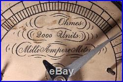 XRAY meter WAITE BARTLETT STATIC 1890S prototype vintage MEDICAL equipment