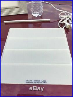 X-RAY EQUIPMENT MEDICAL Idealite VIEWER ILLUMINATOR Portable Richard Vtg slides